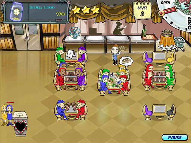 Diner Dash Screenshot 1
