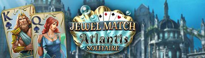 Jewel Match Atlantis Solitaire screenshot