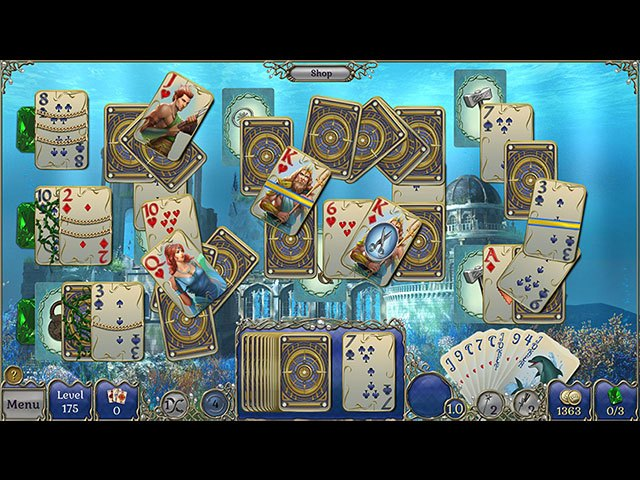 Jewel Match Atlantis Solitaire large screenshot
