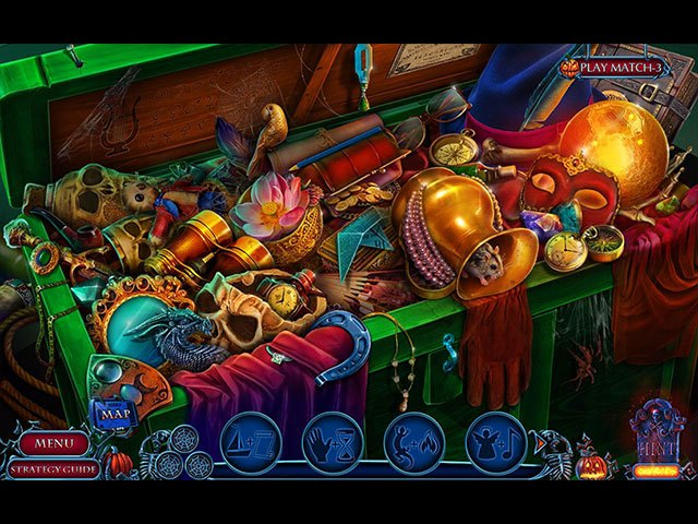 Halloween Chronicles: Evil Behind a Mask Collector's Edition large screenshot