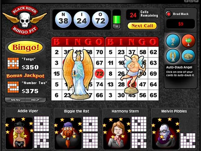 Saints and Sinners Bingo large screenshot