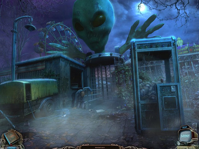 Forbidden Secrets: Alien Town Collector's Edition large screenshot