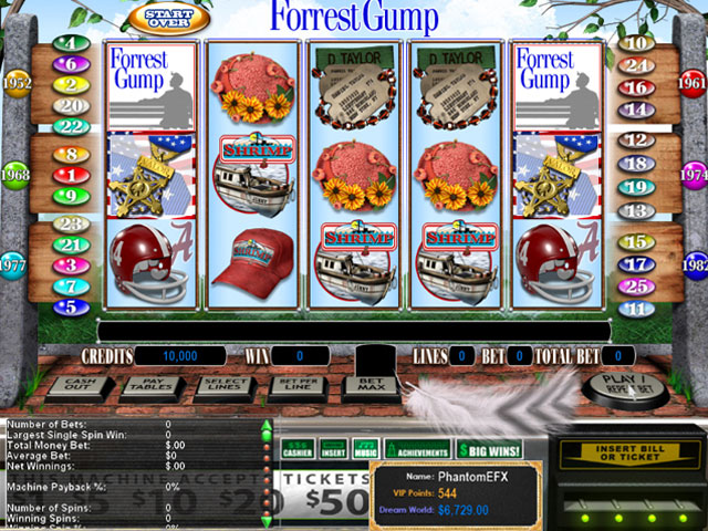 Reel Deal Epic Slot: Forrest Gump