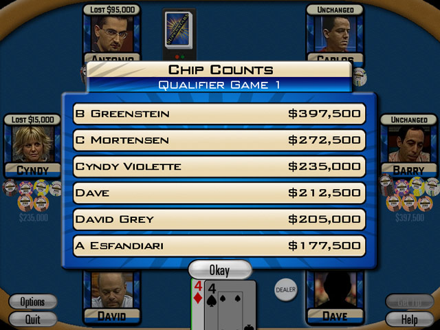 Poker Superstars II large screenshot