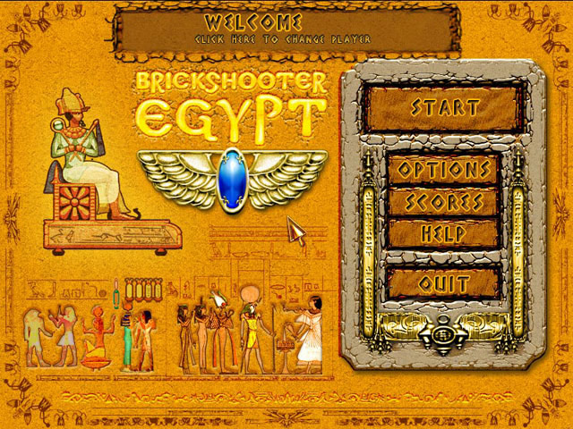 Brickshooter Egypt large screenshot