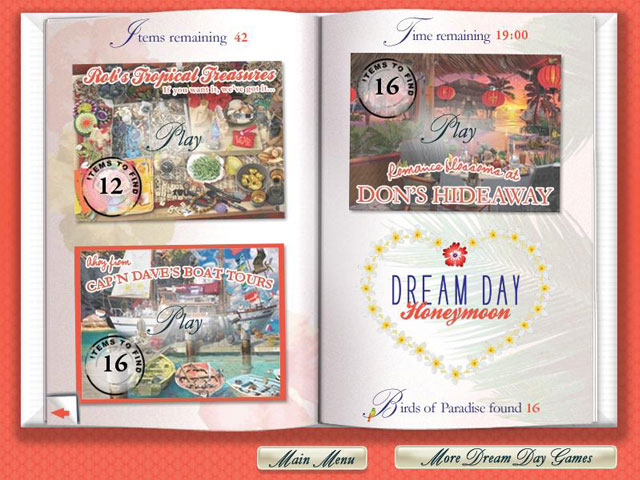 Dream Day Honeymoon large screenshot