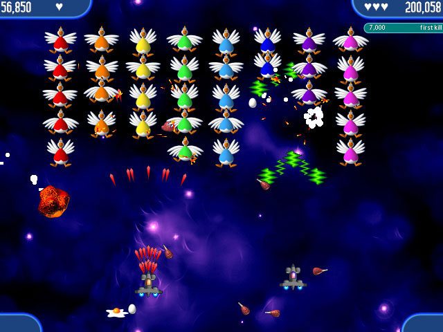 Chicken Invaders 2 Screenshot 1