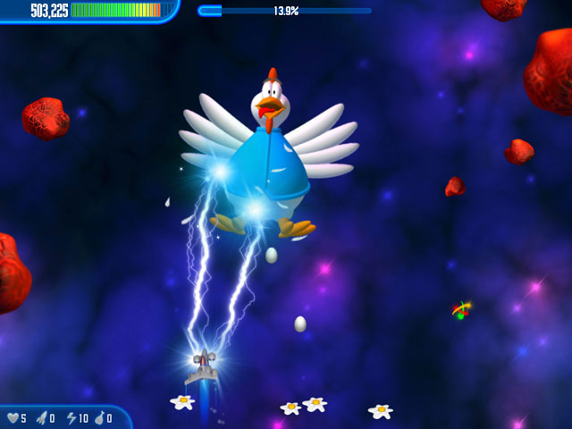 Chicken Invaders 3 Screenshot 1