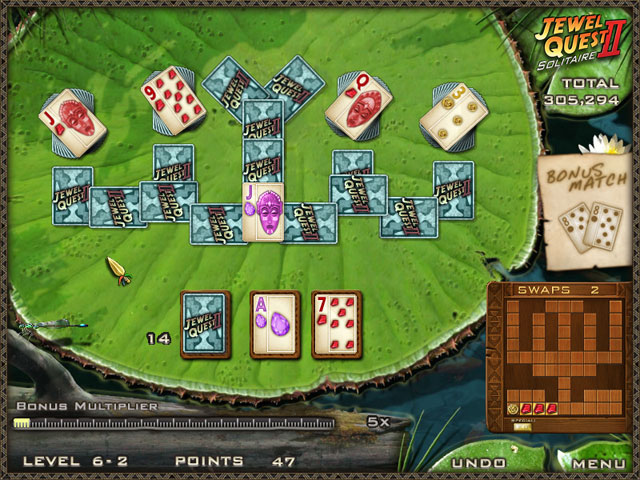 Jewel Quest Solitaire II large screenshot