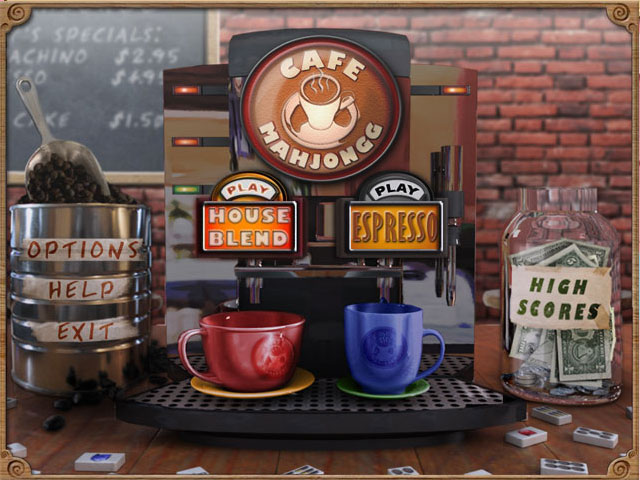 Cafe Mahjongg large screenshot