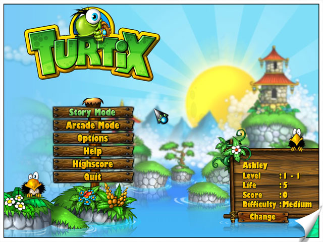 Turtix large screenshot