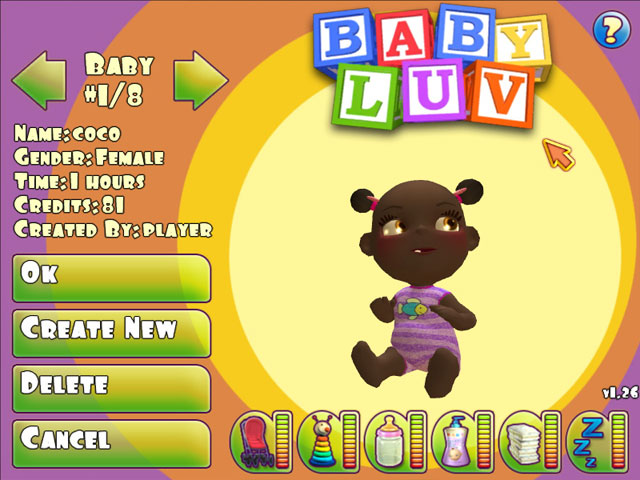 Baby Luv Screenshot 1