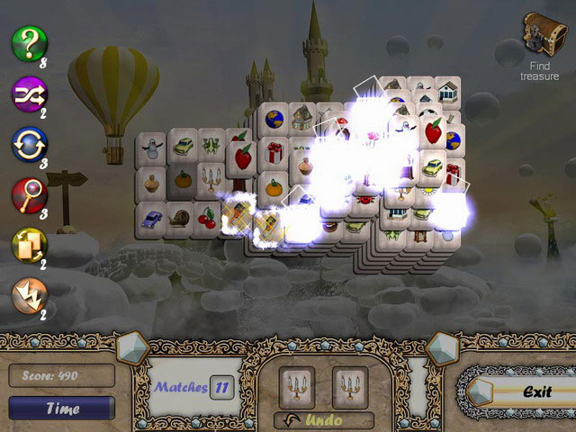 Aerial Mahjong large screenshot