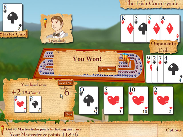 Cribbage Quest large screenshot