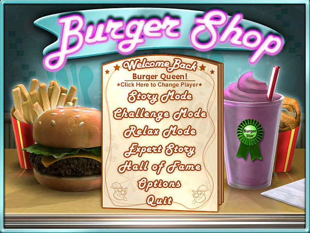 Burger Shop Screenshot 1