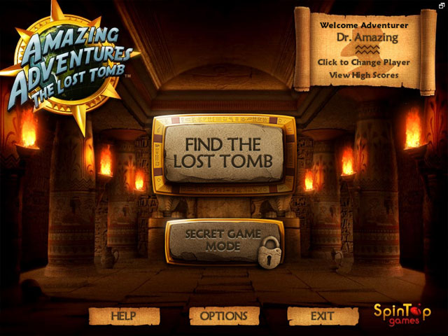 Amazing Adventures - The Lost Tomb large screenshot