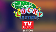 Pat Sajaks Lucky Letters TV Guide Edition