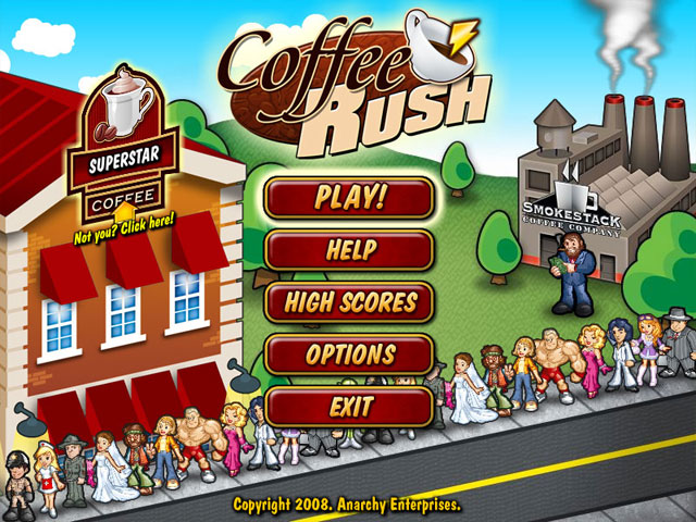 Coffee Rush Screenshot 1