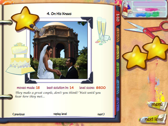 ColorUp Wedding Scrapbook Screenshot 1