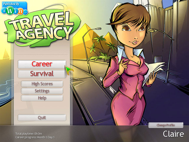 Travel Agency large screenshot