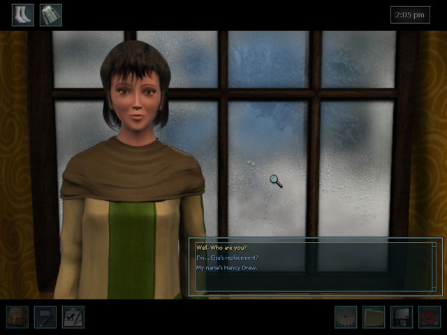 Nancy Drew: The White Wolf of Icicle Creek large screenshot