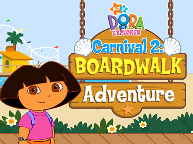 Dora Carnival 2 Boardwalk Adventure Screenshot 1