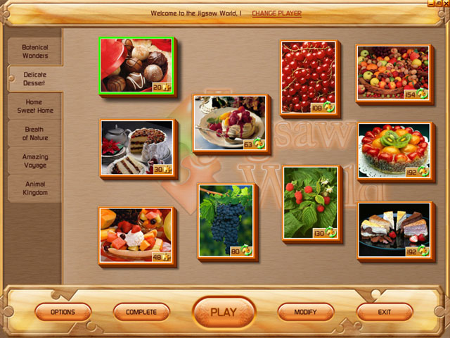 Jigsaw World Screenshot 1