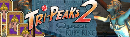 Tri-Peaks 2 Quest for the Ruby Ring screenshot