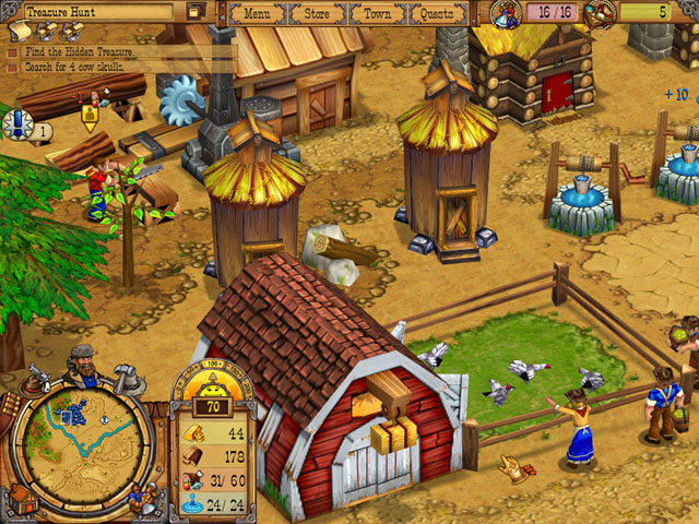 Westward II: Heroes of the Frontier large screenshot