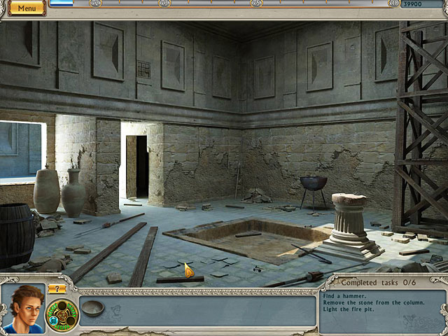 Alabama Smith: Escape from Pompeii large screenshot