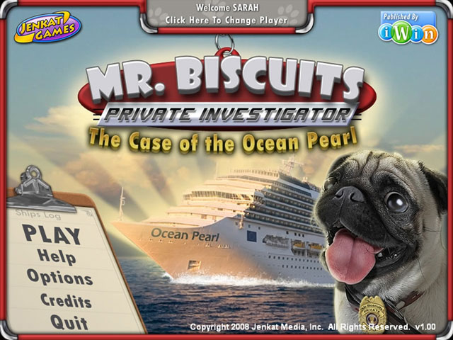 Mr Biscuits The Case of the Ocean Pearl Screenshot 1