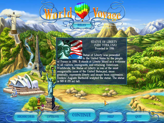 World Voyage large screenshot