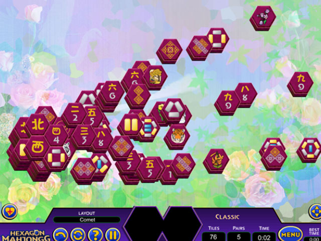 Hexagon Mahjongg large screenshot