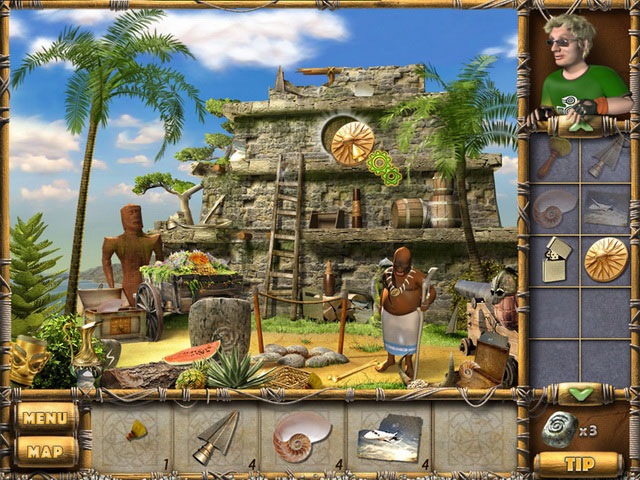 Treasures of Mystery Island large screenshot