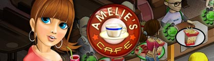 Amelie's Cafe screenshot