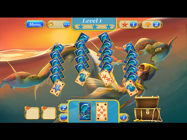 Maidens of the Ocean Solitaire large screenshot