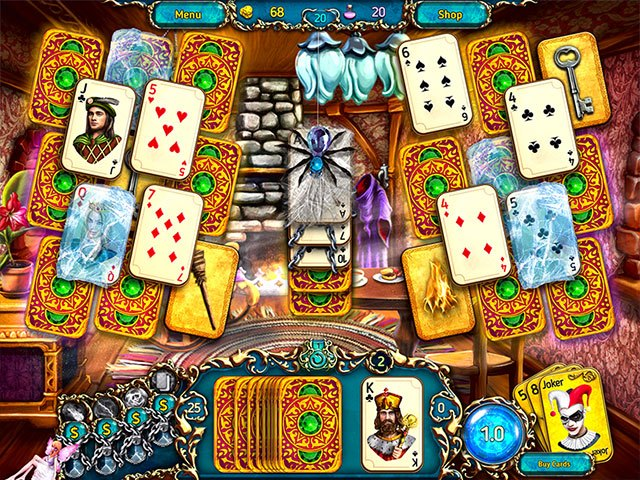 Dreamland Solitaire: Dragon's Fury large screenshot