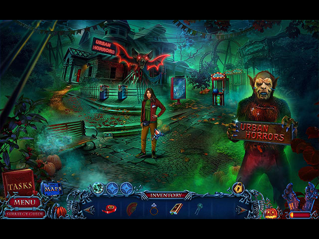 Halloween Chronicles: Monsters Among Us Collector's Edition large screenshot
