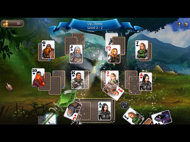 Ember Night Solitaire large screenshot