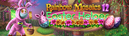 Rainbow Mosaics 12: Easter Helper screenshot