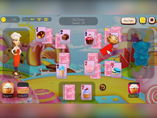 Sweet Treat Solitaire large screenshot