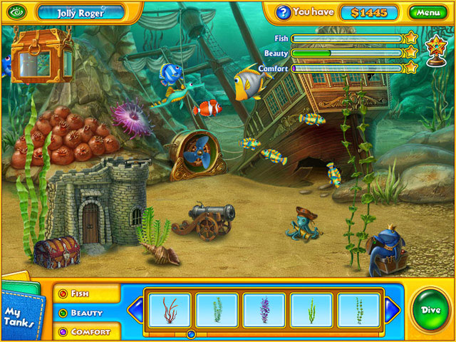 Fishdom H2O Hidden Odyssey Screenshot 1