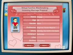 Virtual Families large screenshot