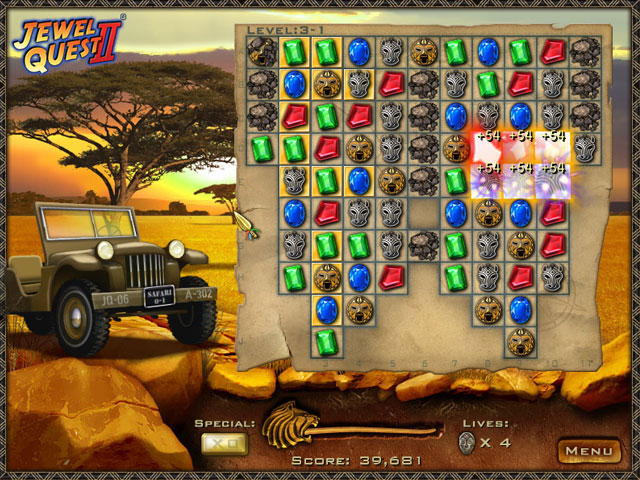 Double Play: Jewel Quest 2 and Jewel Quest 3 large screenshot