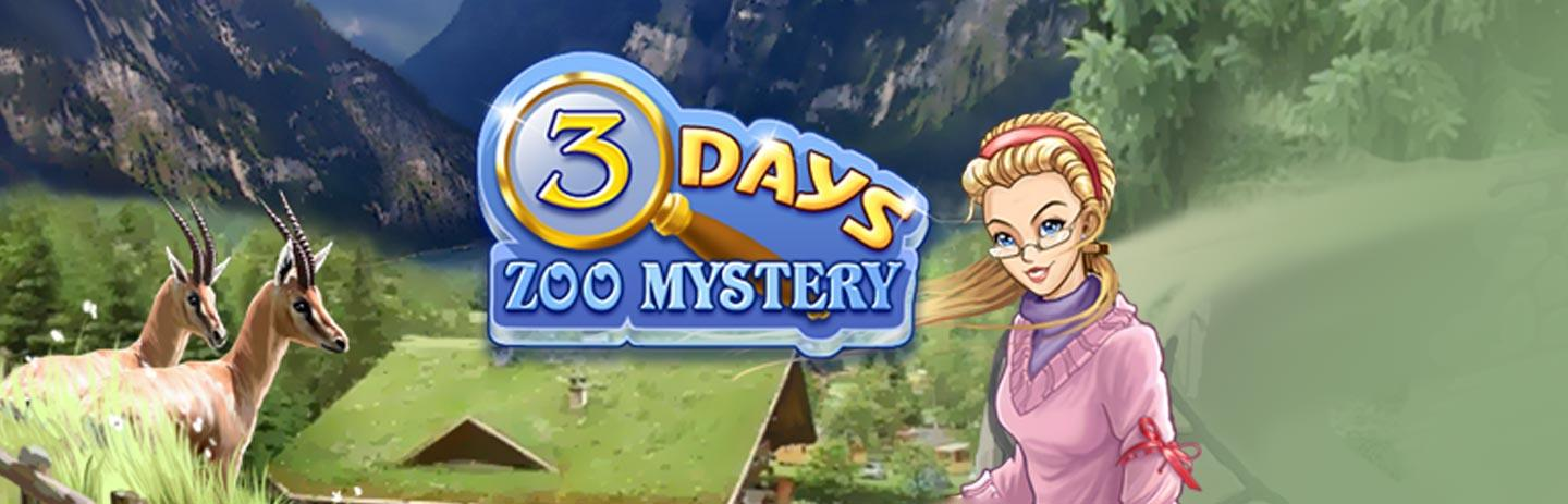 Three Days: Zoo Mystery
