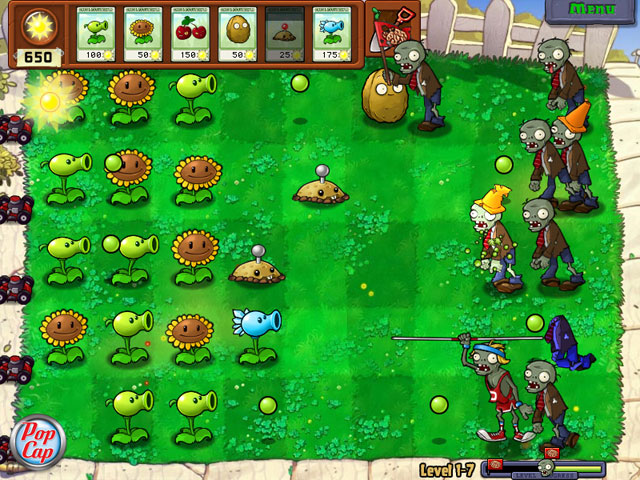 Plants Vs Zombies: Game of the Year Edition large screenshot