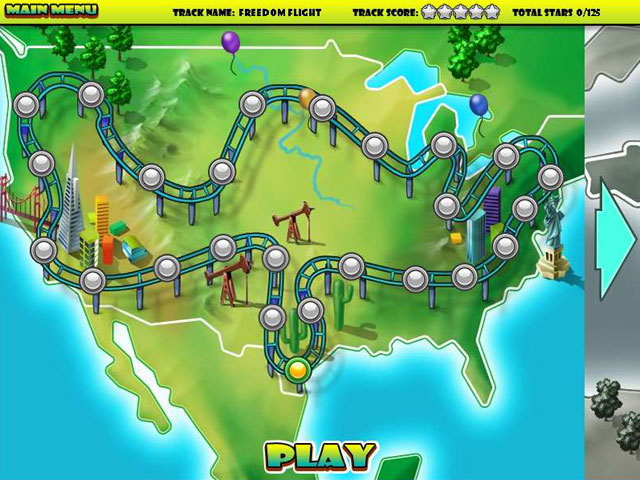 Rollercoaster Rush Screenshot 1