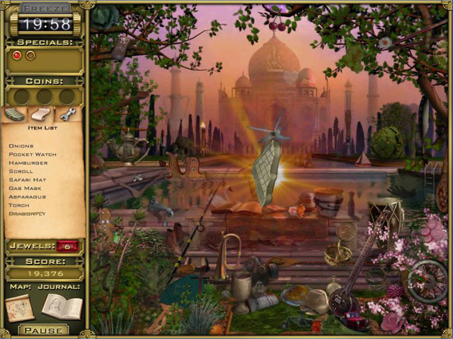 Jewel Quest Mysteries 2 Trail of the Midnight Heart Screenshot 1