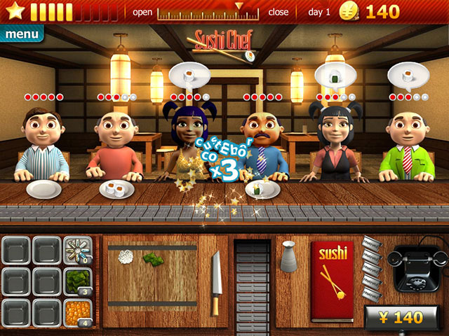 Youda Sushi Chef Screenshot 1