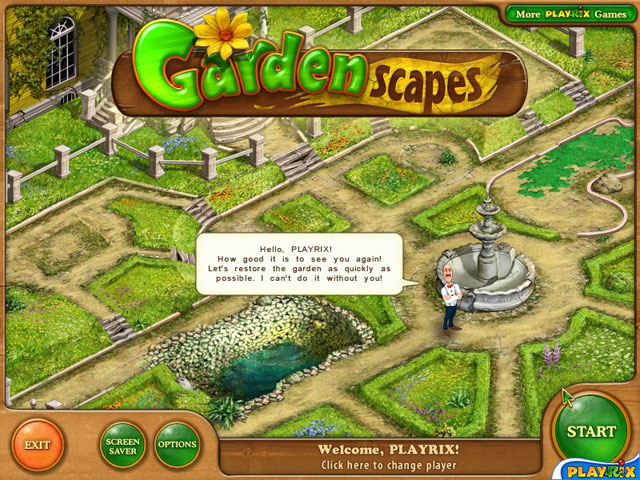 Gardenscapes Screenshot 1